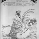 adolphe willette alleluia je couve mon oeufcourrier franais no16 20 avril 1905