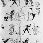 adolphe willette pierrot amoureux chat noir no13samedi 8 avril 1882 p3
