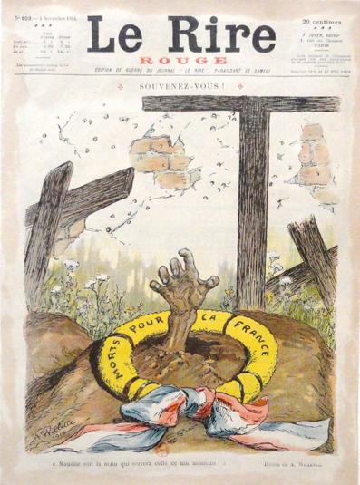 souvenez vous le rire rouge 4 nov 1916